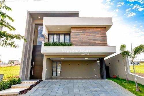 Casa Com 3 Suítes À Venda, 285 M² Por R$ 2.086.000 - Swiss Park - Campinas/sp - Ca0437