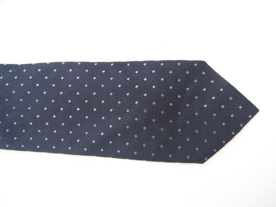 Corbata Adolfo Dominguez Azul Marino Original