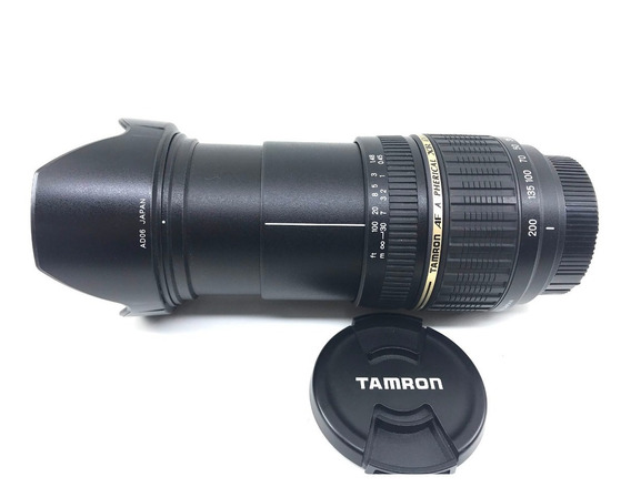 Zoom Tamron Af 18-200mm F3.5-6.3 Di Ii Ld Nikon Linda!!
