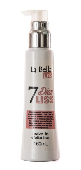 La Bella Liss Leave-in Efeito Liso 7 Dias Liss 160g