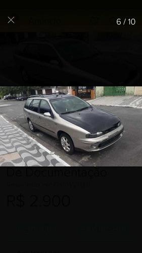 Fiat Marea Weekend Elx 2001 Com Débitos E Reparos Lei