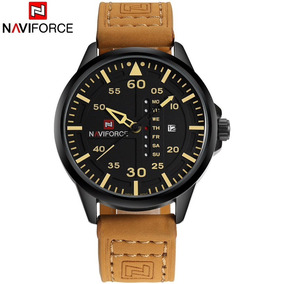 Relógio Masculino De Pulso Militar Naviforce 9074