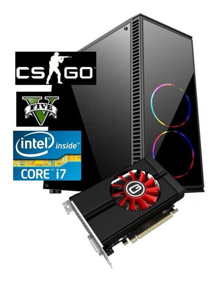 Pc Cpu Gamer Core I7 3.8ghz + 16gb + Ssd 240gb + Gtx 1050