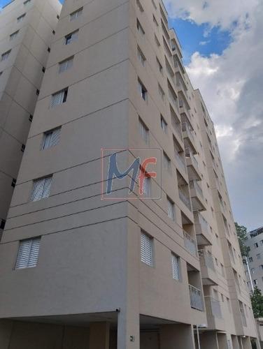 Ref: 5539 - Excelente Apartamento No Bairro Vila Carmem ( Vila Ema) Com 3 Dorms, Cozinha, Banheiro, Lavanderia, 1 Vaga. Lazer Completo! - 5539