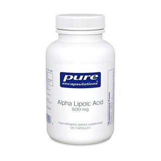 Encapsulations Pure - Ácido Alfa Lipoico 600 Mg - Hypoallerg