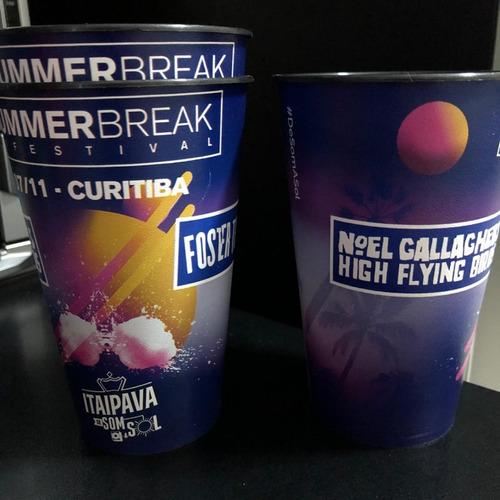 Copo Summer Break Noel Gallagher Foster Curitiba 2018