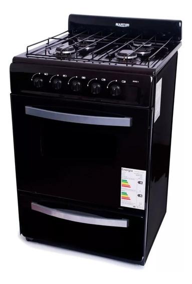 Cocina Martiri 4 Hornallas 56 Cm Gas Envasado O Gas Natural