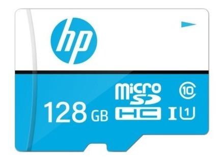 Cartão De Memória Hp 128gb - Classe 10 - Internacional
