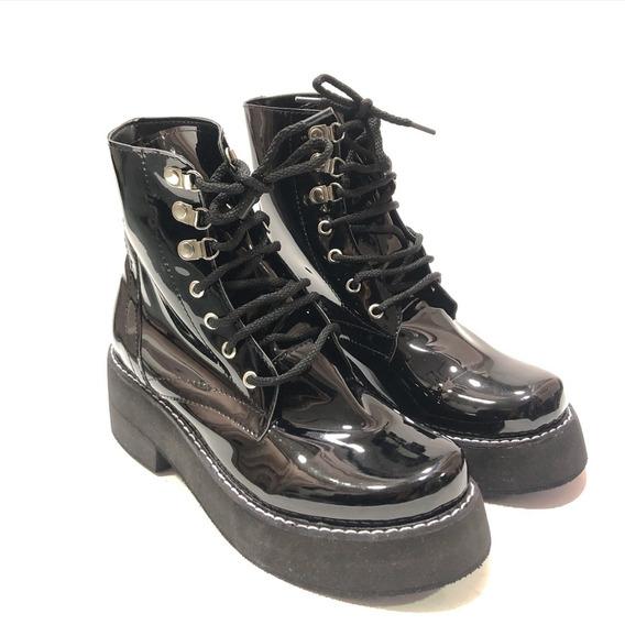 Borcegos Con Cordones Zapatos