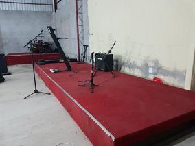 6be01a5b47 Palco Para Eventos Pequenos - Instrumentos Musicais, Usado no Mercado Livre  Brasil
