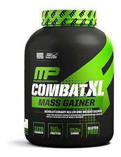 Polvo Para Aumentar Masa Muscular Musclepharm Combat Xl Blan