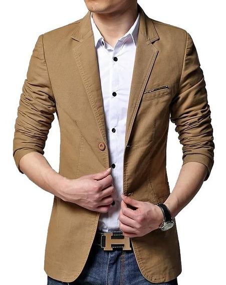 Blazer Sarja Slim Fit Premium Social Luxo Masculino