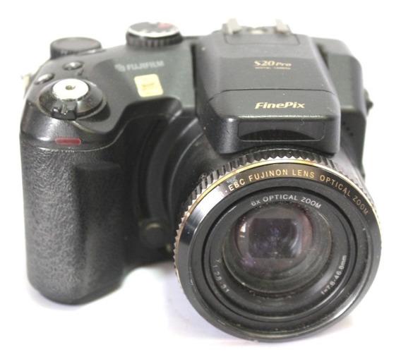 Câmera Digital Fujifilm S20 Pro Sucata Para Retirada De Peça