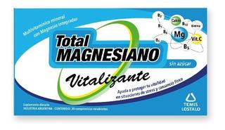 Total Magnesiano Vitalizante X 30 Comprimidos Recubiertos