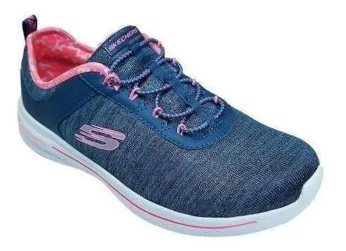 Zapatillas Skechers Mujer Burst 2.0 Sunny Side - 12659 Azul