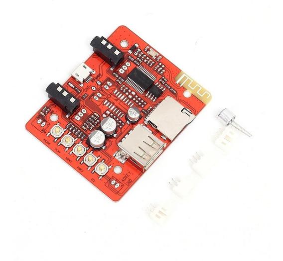 Receptor Bluetooth 4.0 + Usb + Microsd - Con Microfono