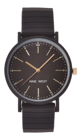 Reloj Nine West Para Dama Modelo: Nw2330bkbk Envio Gratis