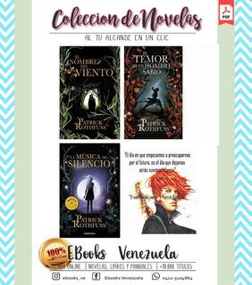 Coleccion De Novelas El Nombre Del Viento - Patrick Rothffus