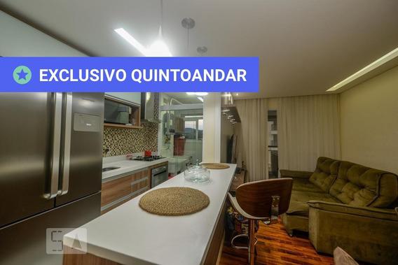 Apartamento No 2º Andar Mobiliado Com 2 Dormitórios E 1 Garagem - Id: 892987985 - 287985