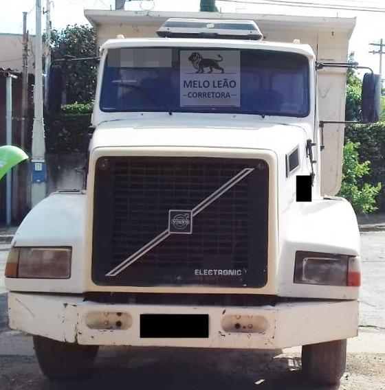 Volvo Nl 12 360 Edc -96/96 - Traçado 6x4, Caçamba, Excelente