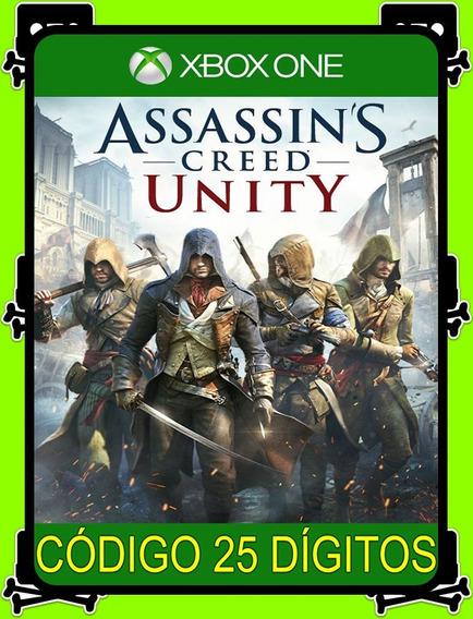 Assassins Creed Unity Xbox One - 100% Original (25 Dígitos)