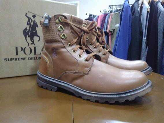 Bota Coturno Masculina Polo Supreme Deluxe Shoes