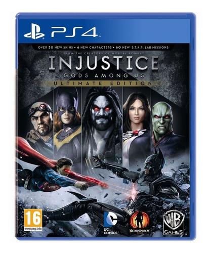 Imagen 1 de 4 de Injustice: Gods Among Us Ultimate Edition Warner Bros. PS4 Físico