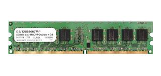 Memoria Ram P/ Pc Elpida 1gb Ddr2 Pc2-5300u 667mhz 240pin