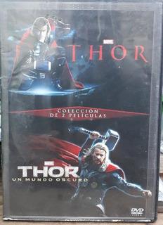 Dvd Colección De 2 Películas Thor Y Thor Un Mundo Oscuro