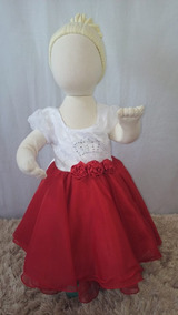 Vestido Infantil/bebê/aniversário/batizado/festa. C109