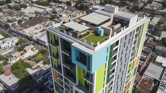 Departamento Renta En Edificio El Semillero Purisima , Monterrey, Nl