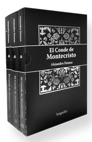 El Conde De Monte Cristo - (3 Tomos) - Longseller