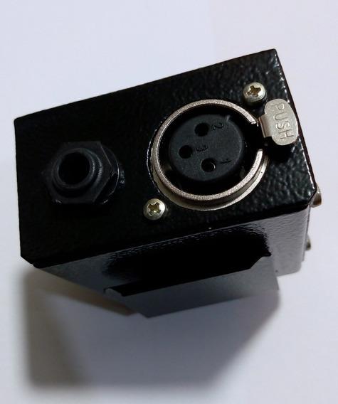 Kit 8 Retornos Xlr Femea Monitor Palco Regulador Volume Fone Powerplay