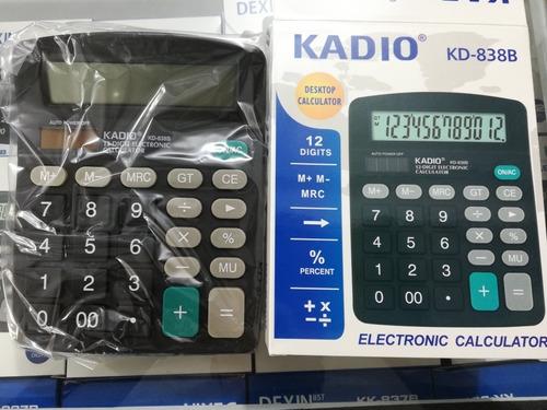 Calculadora Kadio 12 Dígitos Mayor Y Detal Oferta 5.5vrd