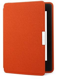 Funda De Cuero Amazon Kindle Paperwhite, Caqui - Se Adapta A