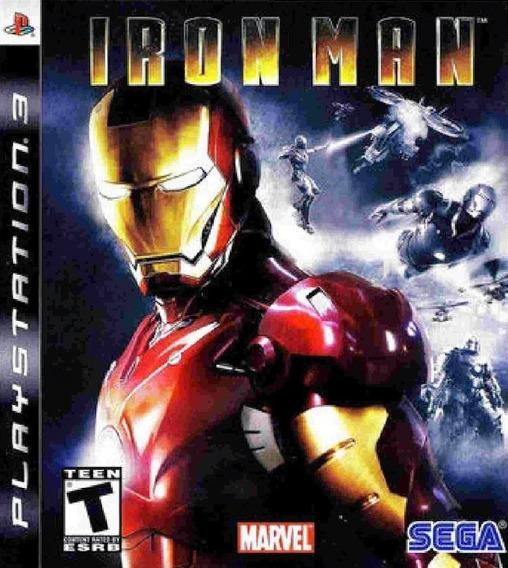 Iron Man Ps3 - Leia Descrição