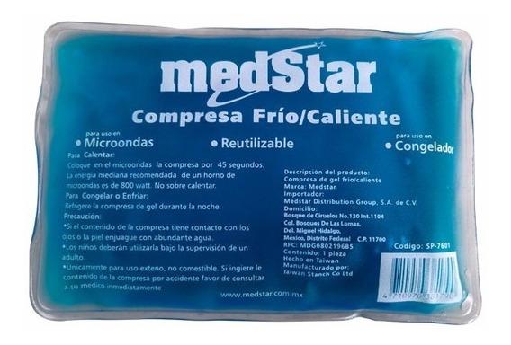 Compresa De Gel Frío / Caliente Medstar 10 X 15 Cm