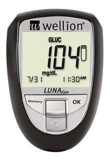 Wellion Luna Duo Monitor De Colesterol E Glicemia Promoção