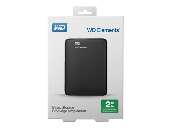 Disco Externo 2tb Western Digital Elements Usb 3.0