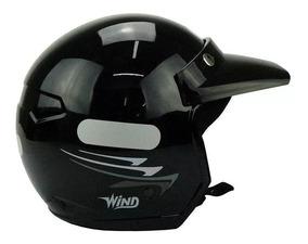 Capacete Taurus Wind V2 New Concept Preto - Mac Atacado Rp