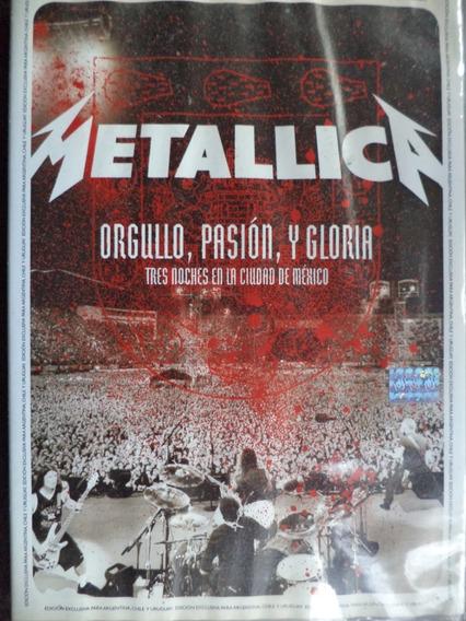 Metallica Orgullo Pasion Y Gloria Dvd Excelente Duncant