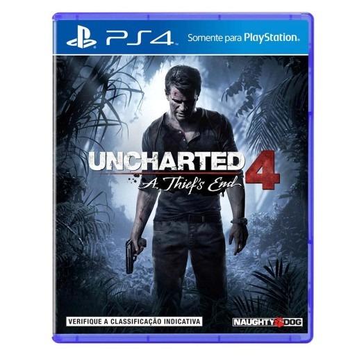 Uncharted 4 - A Thiefs End Ps4 Português Mídia Física