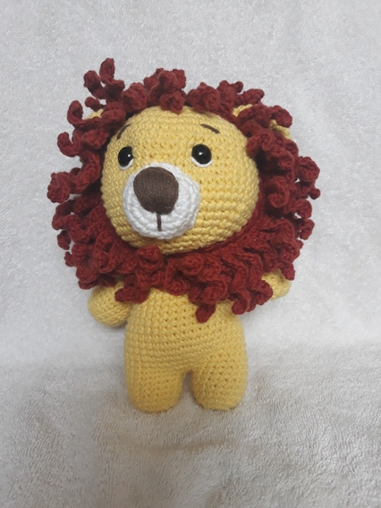 León amigurumi patrón llavero crochet video tutorial | Crochet.eu | 568x426