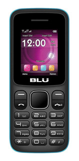 BLU Z4 Dual SIM 32 MB Preto/Azul 32 MB RAM