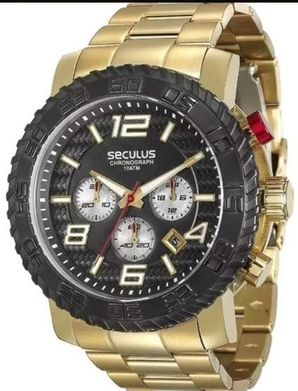 Relógio Masculino Seculus 28785gpsgda3