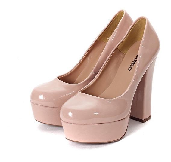Zapatos Mujer Plataforma Taco Alto Charol - 990-8925ch Biza