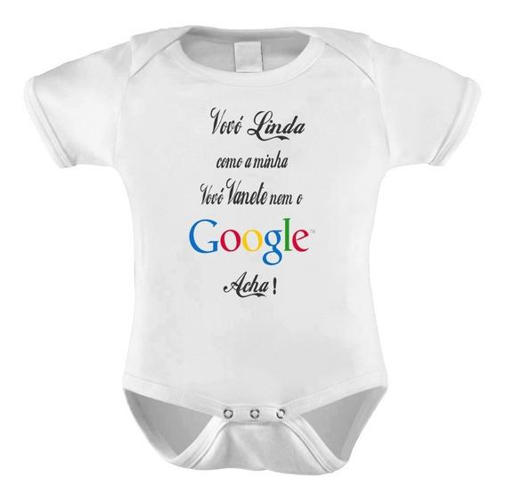 Body Bori Bebê Neném Personalizado Frases Vovó Linda Google