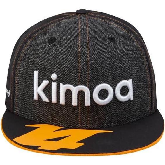 Gorra Kimoa Fernando Alonso Mclaren New Era Genuina F1