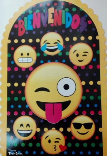 Cotillon Emoticones Emojis, 10 Chicos,mantel,servilletas