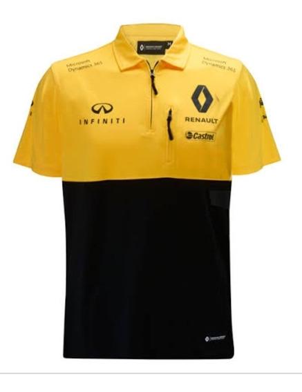 Camisa Polo Renault F1 Sainz - Hulkenberg **envio Gratis**